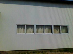 トタン一枚の壁温度