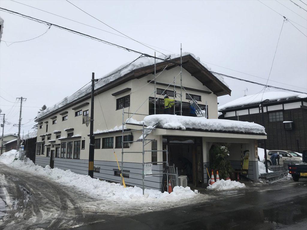 旧山田屋旅館 | 外観修理 | 蔵のまち増田