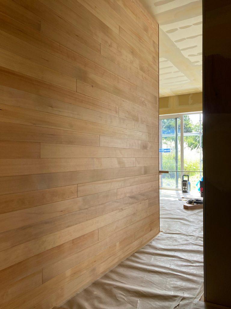 大森の家 | 内装 板張り